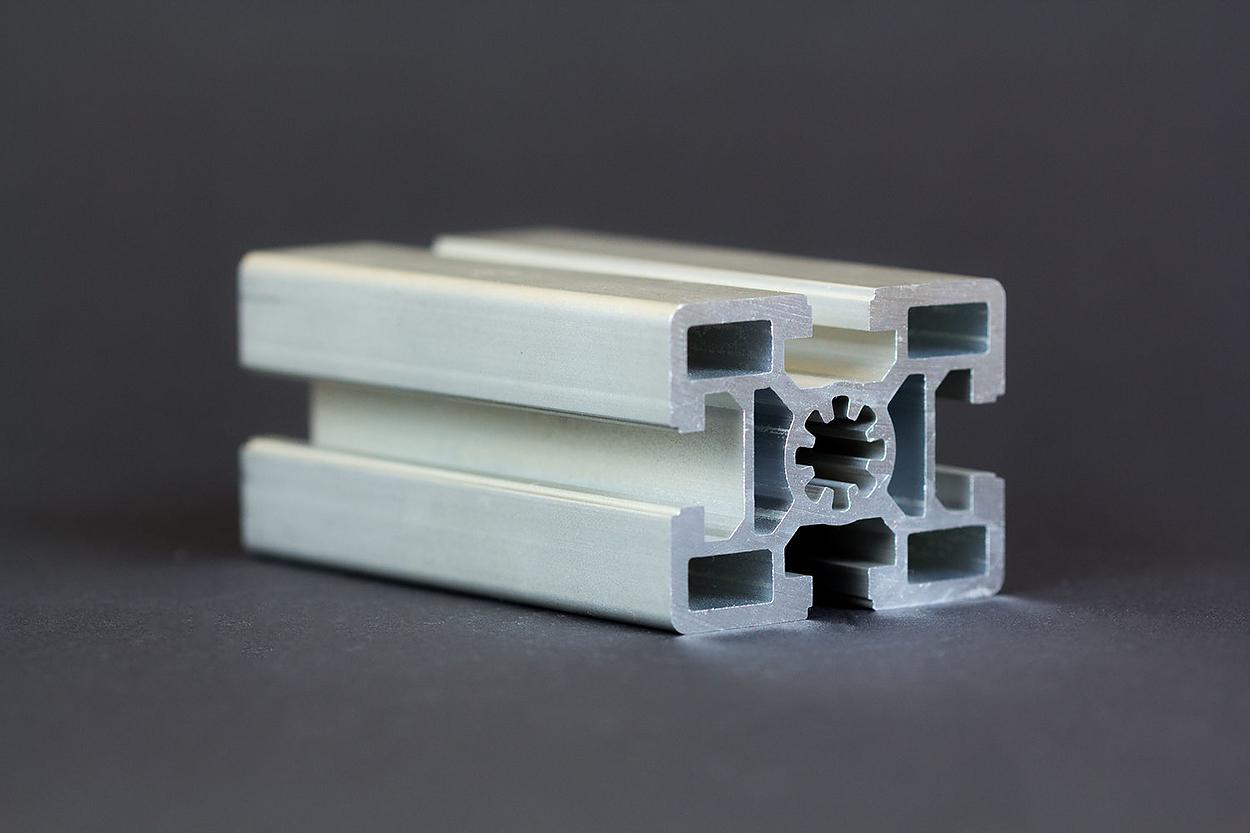 1 m alu profil aluprofile 45x60 nut 10 bosch kompatibel aluminiumprofil ebay. Black Bedroom Furniture Sets. Home Design Ideas