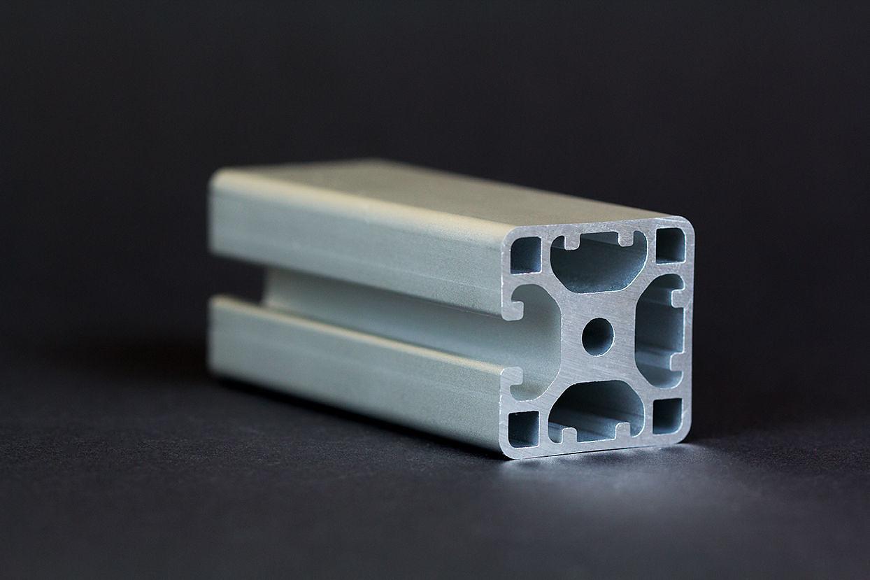 1 m alu profil aluprofile 40x40l 3n nut 8 item kompatibel aluminiumprofil bau ebay. Black Bedroom Furniture Sets. Home Design Ideas