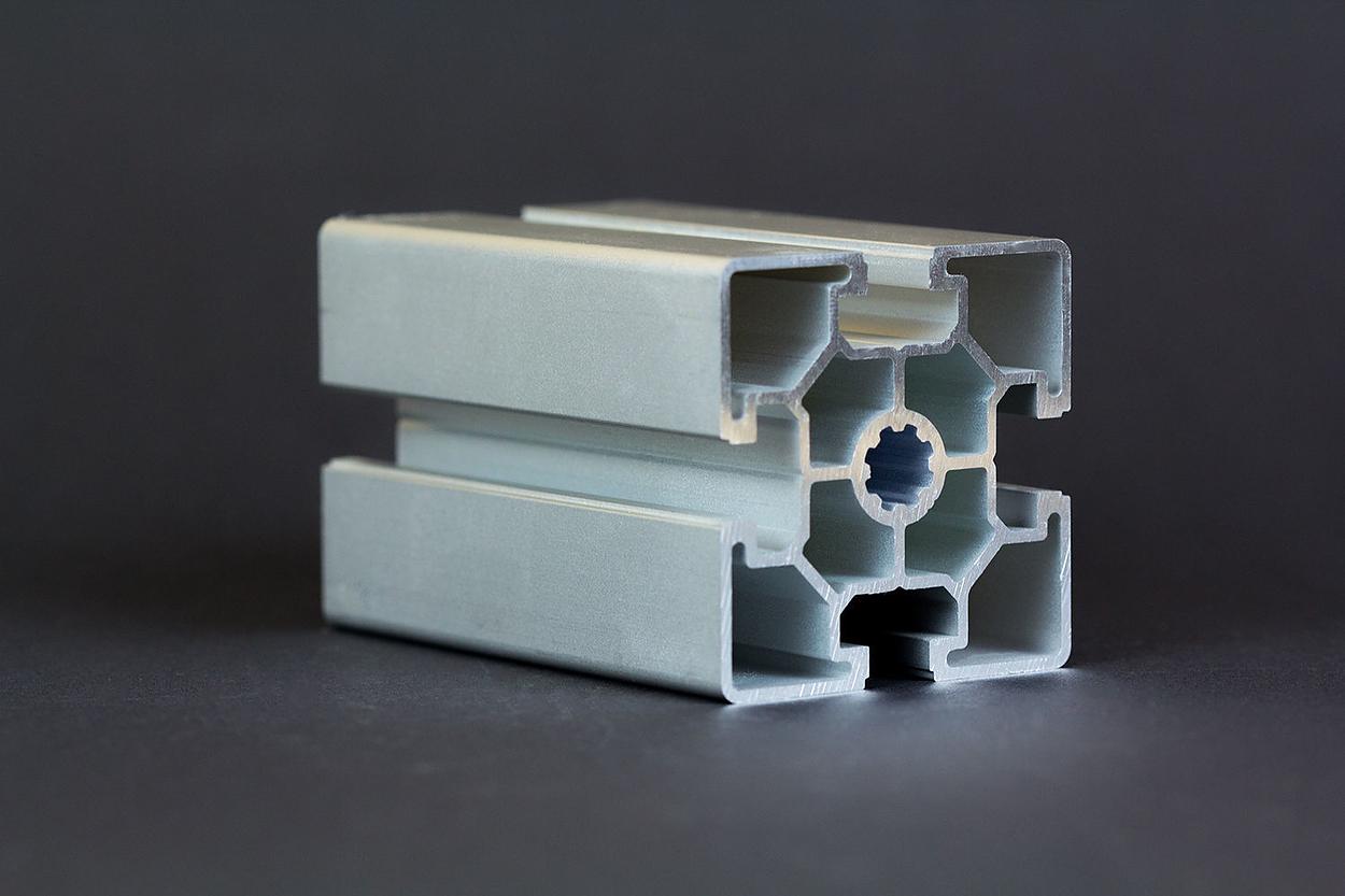 1 m alu profil aluprofile 60x60l nut 10 bosch kompatibel aluminiumprofil ebay. Black Bedroom Furniture Sets. Home Design Ideas