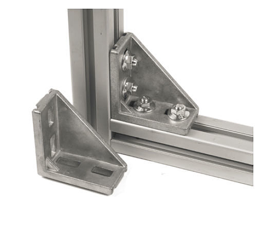 10x 90 winkel 45 90 f r aluminiumprofil bosch kompatibel f r aluprofil ebay. Black Bedroom Furniture Sets. Home Design Ideas