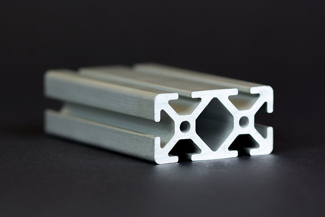 1 m alu profil aluprofile 30x60 nut 6 item kompatibel aluminiumprofil baureih ebay. Black Bedroom Furniture Sets. Home Design Ideas